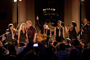 Willie Nelson at Amazon SBA Benefit Concert